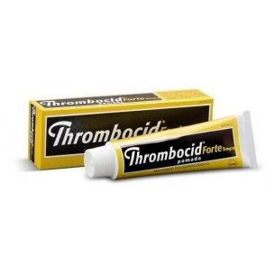 THROMBOCID FORTE 0,5 POMADA 60 GRAMOS