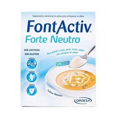 FONTACTIV FORTE NEUTRO 30GRAMOS 10SOBRES