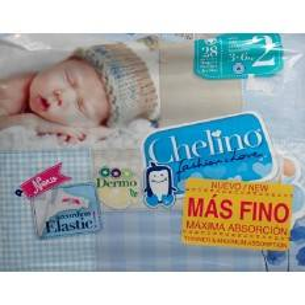 PAÑAL CHELINO LOVE T 2 28 U