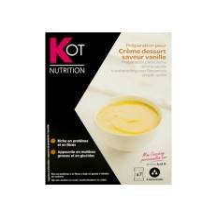 Kot preparación para postre de crema sabor vainilla 7 sobres