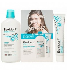 BEXIDENT ENCIAS COLUTORIO TRICLOSAN 500ML PASTA DENTRIFICA TRICLOSAN 125 ML