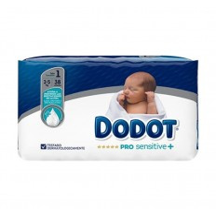 PAÑAL INFANTIL DODOT PRO SENSITIVE T- 1 2-5 KG 3