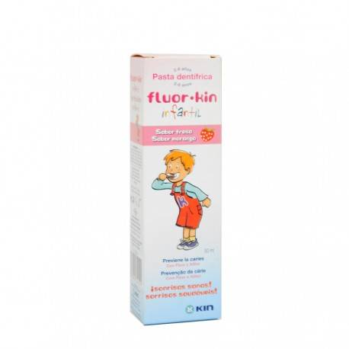 KIN FLUOR INFANTIL FRESA 50 ML