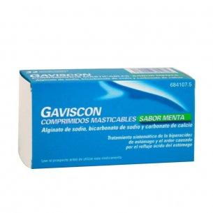 GAVISCON MINT COMPRIMIDOS MASTICABLES 32UNIDADES
