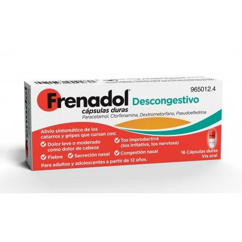 FRENADOL DESCONGESTIVO 16 CAPSULAS