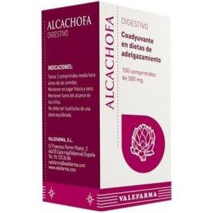 ALCACHOFA VALEFARMA 100 COMPRIMIDOS DE 500MG