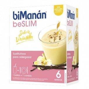 BIMANAN BESLIM SUSTITUTIVO BATIDO 6 SOBRES 55 G