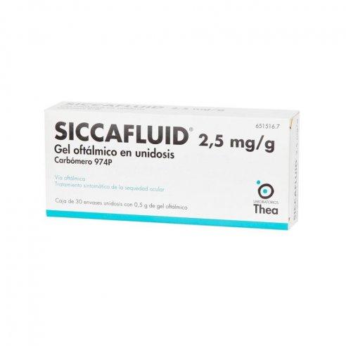 SICCAFLUID GEL 30 MONODOSIS