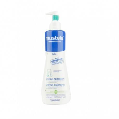 MUSTELA GEL DERMO LIMP 750 ML