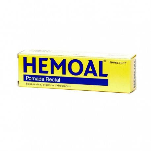 HEMOAL POMADA RECTAL 50 GRAMOS