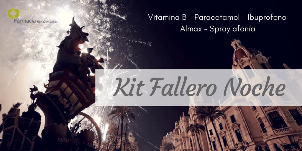 kit fallero de noche